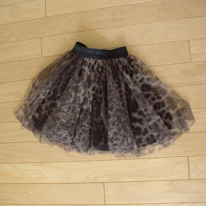 GIRLS JUNIOR GAULTIER 4 layers TULLE SKIRT 5 a